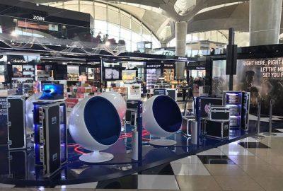 PLV POSM travel retail, Travel Retail, 7Concepts